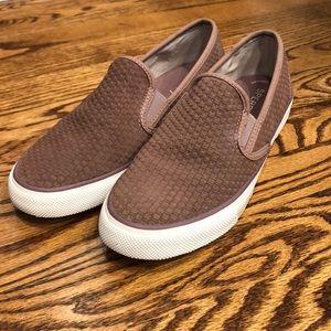 Sperry Mauve Suede Memoryfoam Sneakers